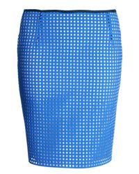 J.W.Anderson | Blue J W Anderson Womens Caged Neoprene Skirt | Lyst