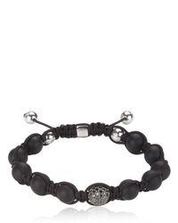 Shamballa Jewels | Black Bracelet for Men | Lyst