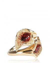 Shaun Leane - Metallic Salomè Double Lily Ring - Lyst