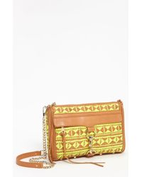 Rebecca Minkoff | Natural Mac Shoulder Bag | Lyst