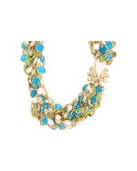 kate spade new york | Multicolor Caledonia Twisted Necklace | Lyst