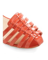 ModCloth - Red Summer Forever Sandal - Lyst