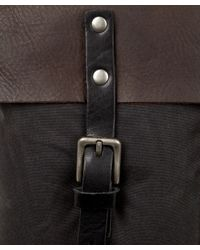 Ally Capellino - Gray Igor Luxe Waxed Cotton Backpack for Men - Lyst
