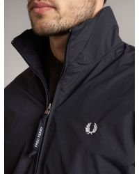 Fred Perry | Blue Sailing Jacket for Men | Lyst