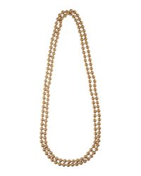 Carolee - Gray Gold Pearl 72 Rope Necklace - Lyst