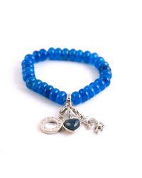 Charmology | Blue Charmology Friendship Bead Bracelet | Lyst