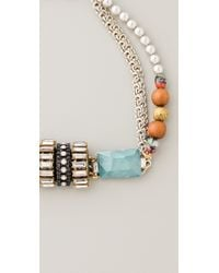 Erickson Beamon - Blue Time Warp Necklace - Lyst