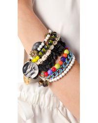 Erickson Beamon - Multicolor Eccentric Lady Land Bracelet - Lyst