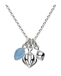 Kit Heath | Sterling Silver Blue Jade Pod Necklace | Lyst