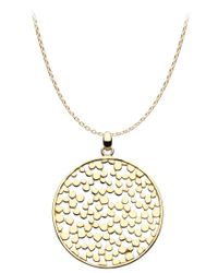 Kit Heath - Metallic Gold Champagne Large Necklace - Lyst