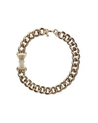 Mimco | Gray Imperial Bow Chain Neck | Lyst