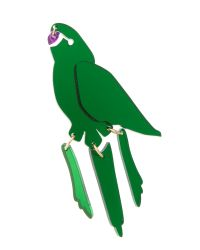 Tatty Devine - Parakeet Green Brooch - Lyst