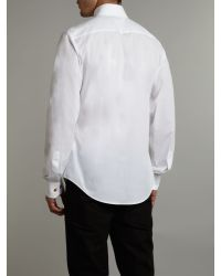 Vivienne Westwood | White Classic Three Button Collar Shirt for Men | Lyst