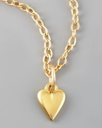 Dogeared - Metallic Kind Heart Charm - Lyst
