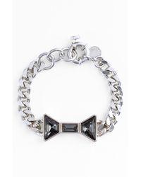Marc By Marc Jacobs | Metallic Id Jewels Bow Bracelet | Lyst