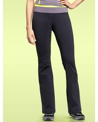 Gap | Blue Gapfit Gflex Colorblock Waist Pants | Lyst
