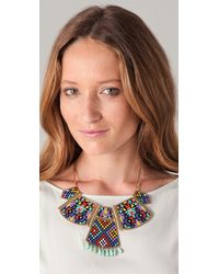 Noir Jewelry - Multicolor Hacienda Statement Necklace - Lyst