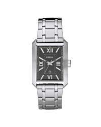 Fossil - Metallic Mens Stainless Steel Bracelet Watch  for Men - Lyst