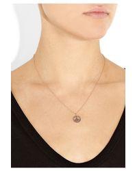 Ileana Makri | Pink Peace 18karat Rose Gold Diamond Necklace | Lyst