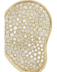Ippolita | Metallic Stardust Gold Diamond Bean Ring | Lyst