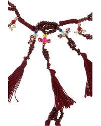 Isabel Marant - Metallic Cy Amp You Tasseled Necklace - Lyst