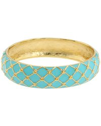 kate spade new york - Blue Mariner Bangle - Lyst