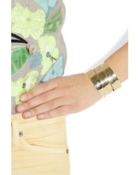 Marc By Marc Jacobs   Metallic Narrow Wrapped Cuff   Lyst