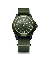 Victorinox | Green Original 40mm Nylon Strap Watch for Men | Lyst