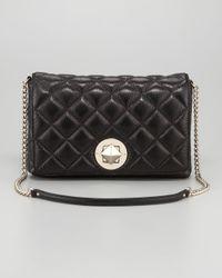 Kate Spade | Black Meadow Quilted Shoulder Bag Large | Lyst