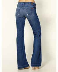 7 For All Mankind | Blue The Dojo Jeans | Lyst