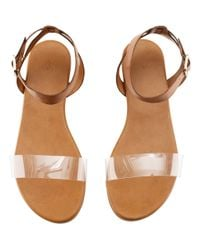 H&M | Brown Sandals | Lyst