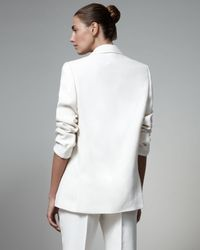 Stella McCartney | White Boyfriend Jacket | Lyst