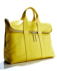 3.1 Phillip Lim | Yellow 31 Hour Bag | Lyst
