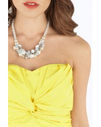 Coast | Metallic Maddy Pearl Necklace | Lyst