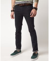 Dr. Denim | Blue Snap Skinny Jeans for Men | Lyst