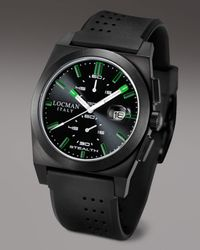 LOCMAN | Stealth Chronograph, Black for Men | Lyst