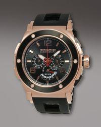 Orefici Watches | Regatta Yachting Chronograph Watch, Black for Men | Lyst