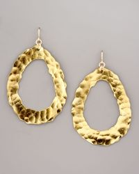 Devon Leigh | Metallic Open Hammered Earrings | Lyst