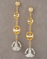 Di Modolo | Metallic Triadra Diamond Earrings | Lyst