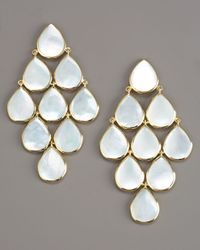 Ippolita - White Cascade Mother-of-pearl Earrings - Lyst