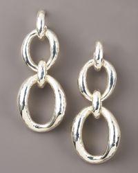 Ippolita | Metallic Chain-link Glamazon Earrings | Lyst