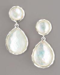 Ippolita - White Rock Candy Drop Earrings - Lyst