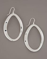 Ippolita - Metallic Scultura Oval Earrings - Lyst
