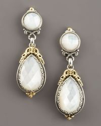 Konstantino | Metallic Mother-of-pearl Dangle Earrings | Lyst