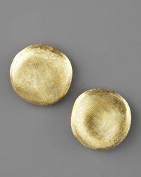 Marco Bicego   Metallic Jaipur Gold Stud Earrings   Lyst