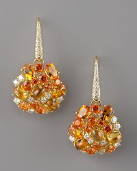 Roberto Coin | Metallic Fireworks Earrings Orange | Lyst