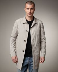 Burberry Brit | Natural Nylon Rain Coat for Men | Lyst