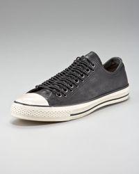Converse - Black Multi-eye Leather Sneaker for Men - Lyst