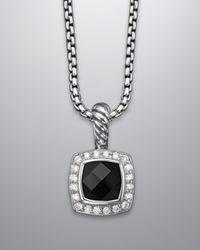 David Yurman | 7mm Black Onyx Albion Necklace | Lyst