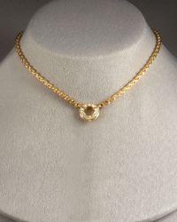 Di Modolo | Metallic Tempia Y Necklace with Detachable Drop | Lyst